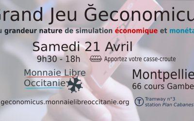CR Ğéconomicus Montpellier 21 avril 2018