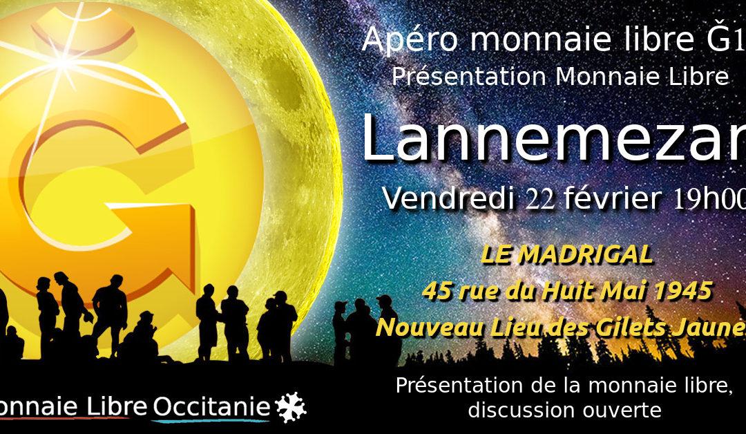 Apéro Monnaie Libre Lannemezan