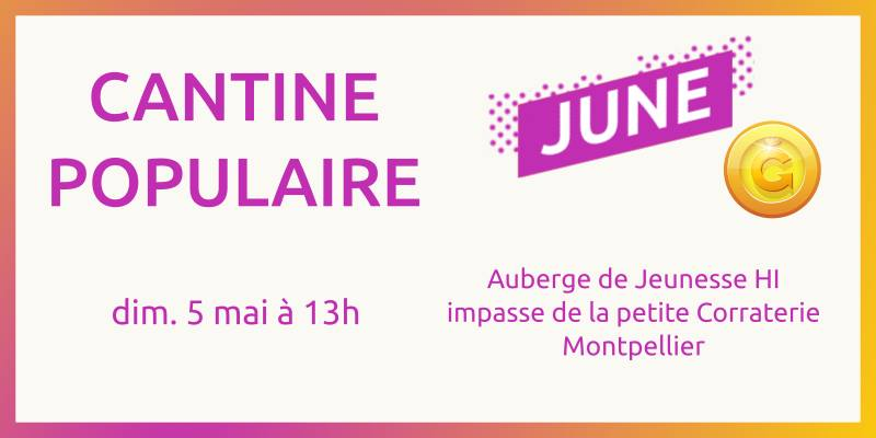 Cantine Populaire à Montpellier