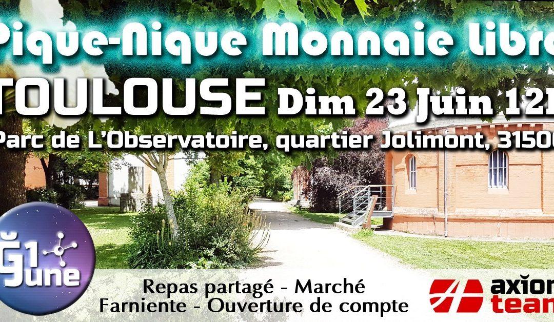 Pique-nique monnaie libre à Toulouse