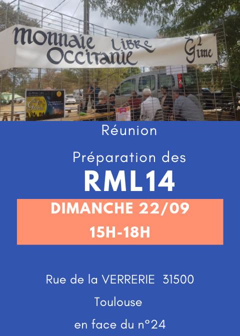 Réunion Préparation des RML14