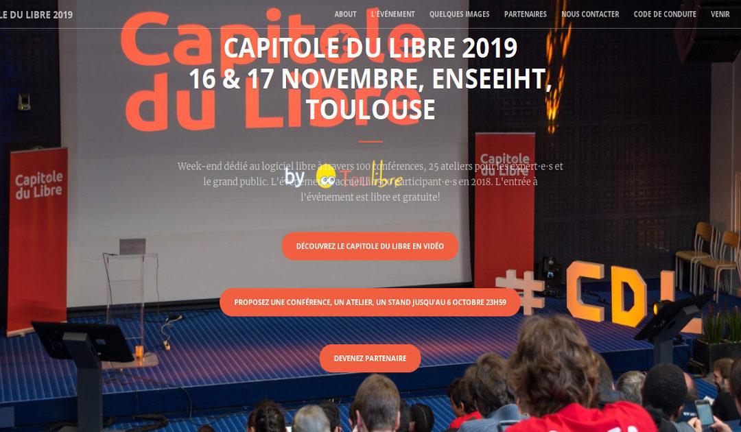 Capitole du Libre 2019 – J2