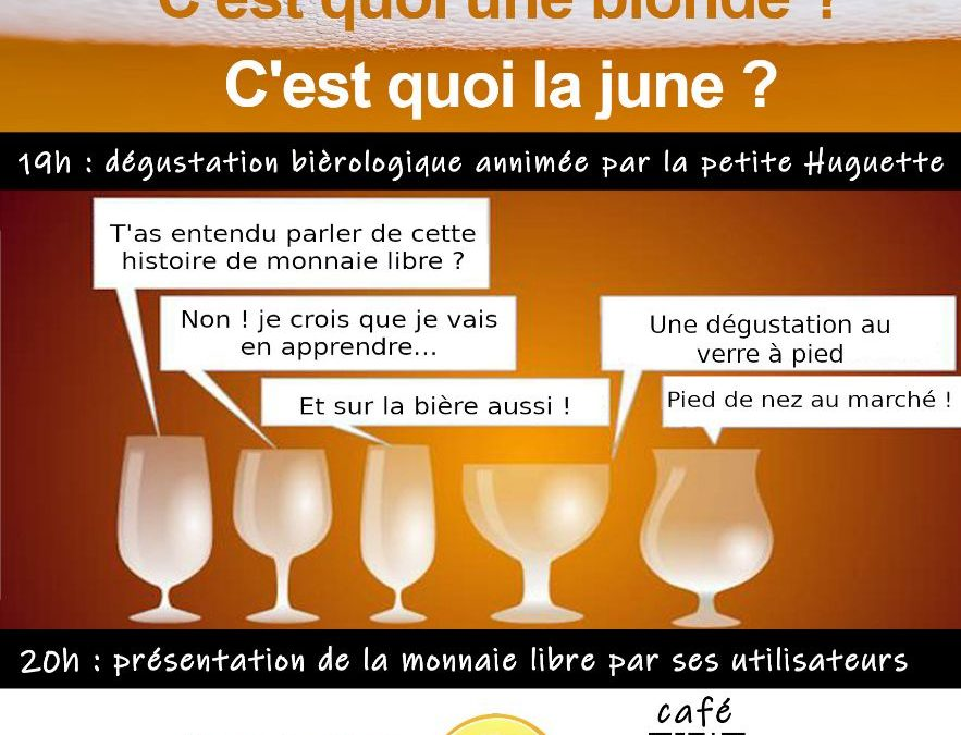 Rencontre Monnaie Libre et dégustation de bières à Auterive