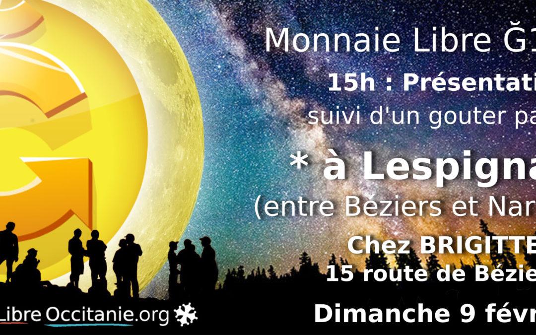 Présentation Monnaie Libre proche Béziers