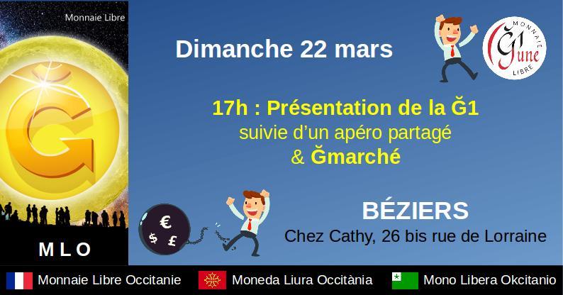 ANNULÉ – Présentation & Ğmarché à Béziers
