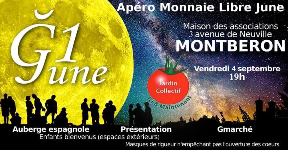 Apéro Monnaie Libre à Montberon