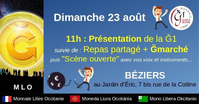 Marché Monnaie Libre à Béziers